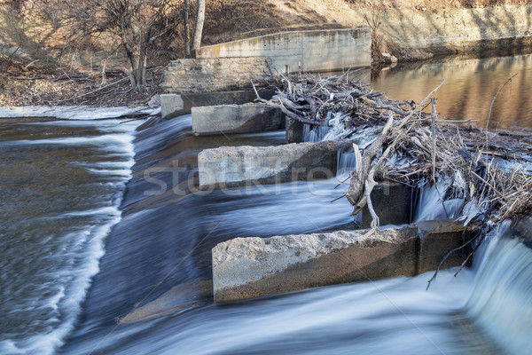 old river dam on Poudre River Stock photo © PixelsAway