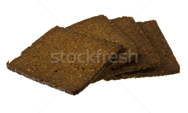 slices of pumpernickel bread Stock photo © PixelsAway