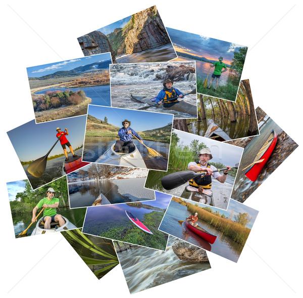 коллекция фотографий Колорадо Реки стоять вверх Сток-фото © PixelsAway