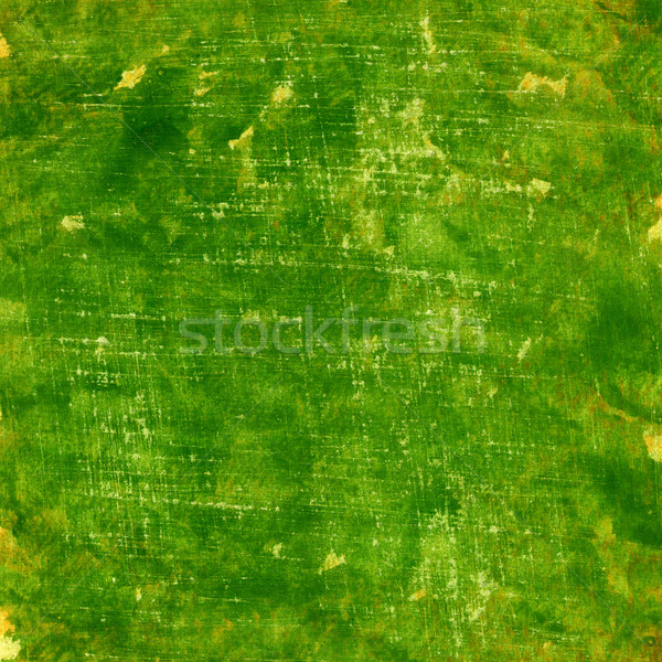 green grunge painted watercolor paper texture Stock photo © PixelsAway
