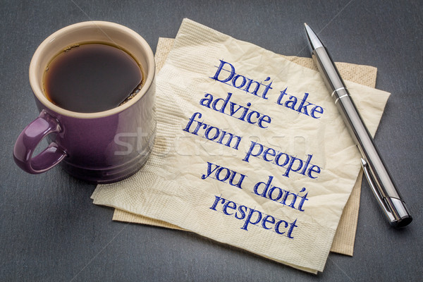 advice and respect concept Stock photo © PixelsAway