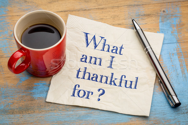 What am I thankful for? Stock photo © PixelsAway