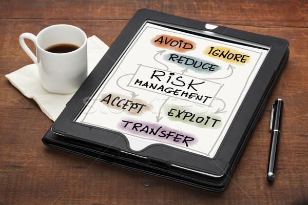 risk management concept Stock photo © PixelsAway