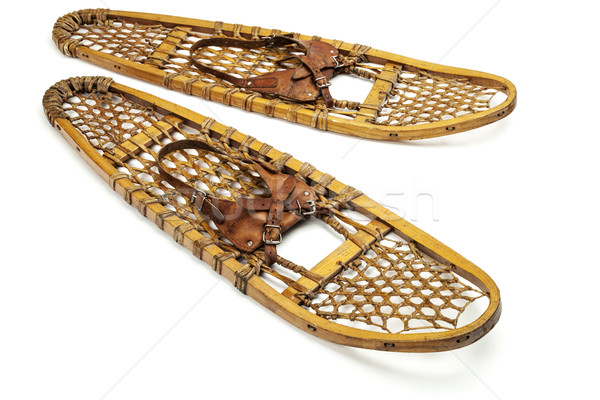 vintage bear paw snowshoes Stock photo © PixelsAway