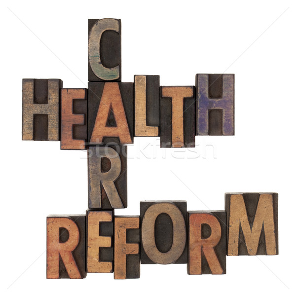 health care reform crossword Stock photo © PixelsAway