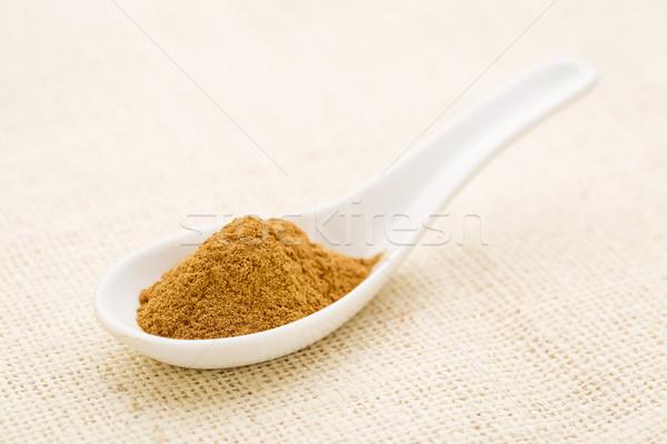 Fahéj édes ugatás por fehér kínai Stock fotó © PixelsAway