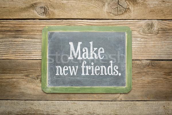 make new friends Stock photo © PixelsAway