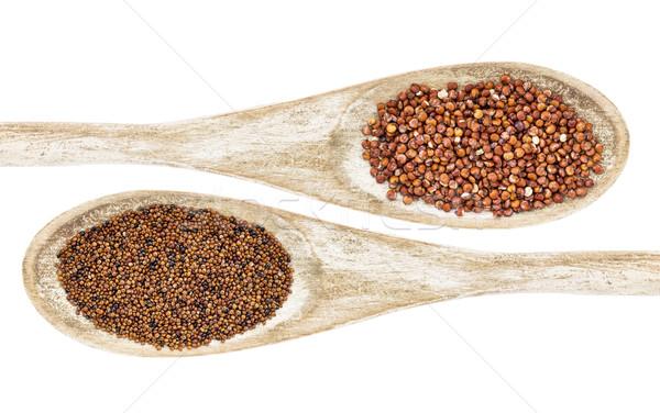 kaniwa and quinoa grain Stock photo © PixelsAway