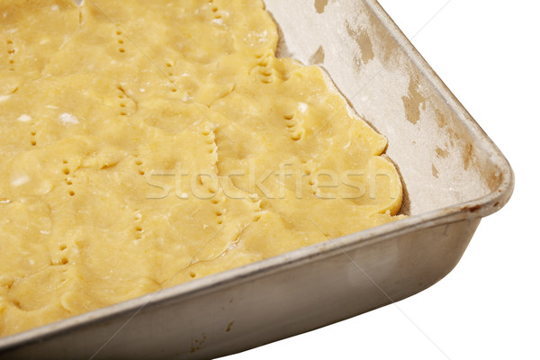 dough in baking tray Stock photo © PixelsAway