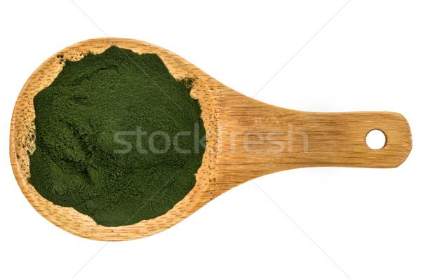 Organic spirulina powder Stock photo © PixelsAway