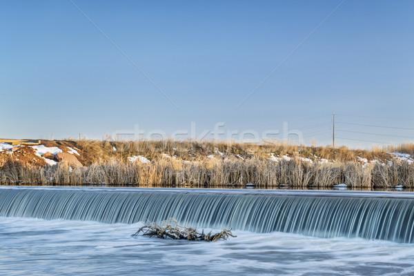 Nehir Colorado dere kuzey kış manzara Stok fotoğraf © PixelsAway