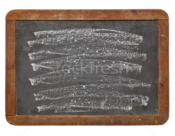 Stok fotoğraf: Beyaz · tebeşir · doku · eski · grunge · tahta