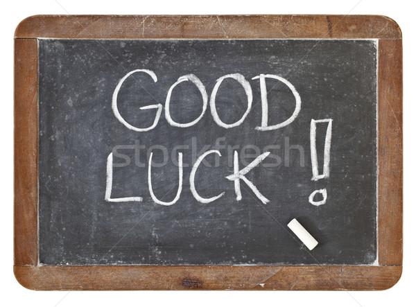 good luck on blackboard Stock photo © PixelsAway