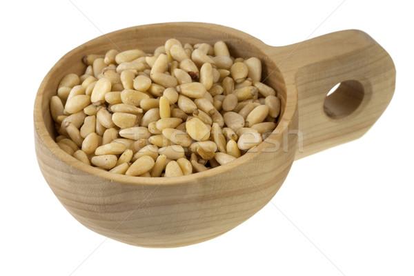 scoop of pine nuts Stock photo © PixelsAway