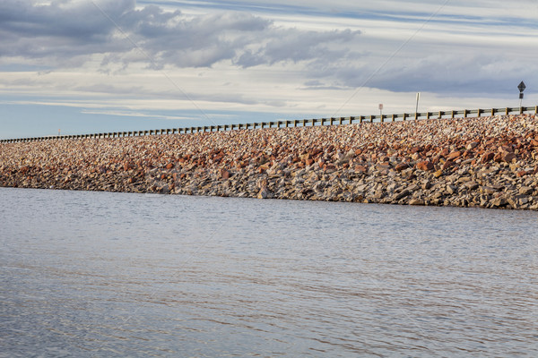 водохранилище рок шоссе форт воды Сток-фото © PixelsAway
