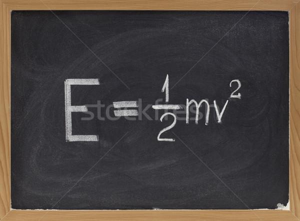 энергии уравнение доске классический механика Сток-фото © PixelsAway