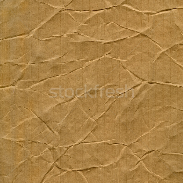 crumpled cardboard texture Stock photo © PixelsAway