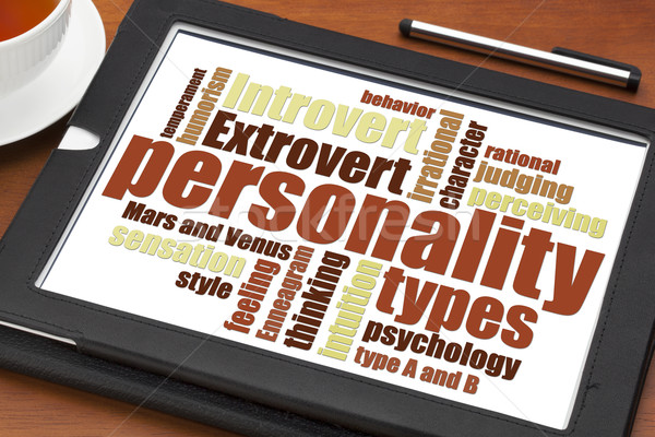personality types word cloud  Stock photo © PixelsAway