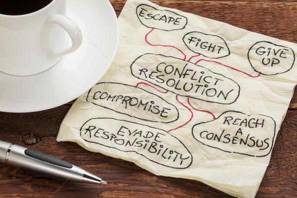 conflict resolution strategies Stock photo © PixelsAway