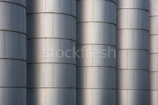 Gabona ipari háttér fém raktár textúra Stock fotó © PixelsAway