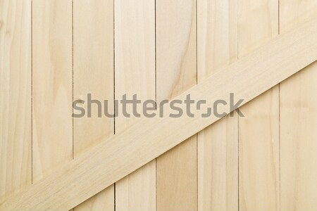 Stock photo: unfinished poplar wood texture