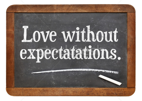 love without expectations Stock photo © PixelsAway