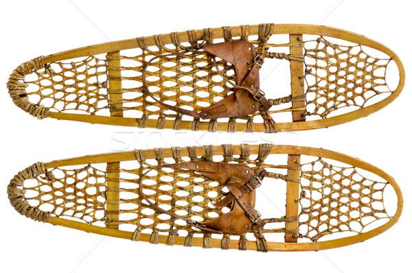 Tenha pata par vintage couro Foto stock © PixelsAway