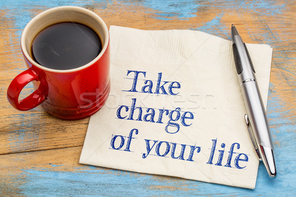 Take charge of your life Stock photo © PixelsAway