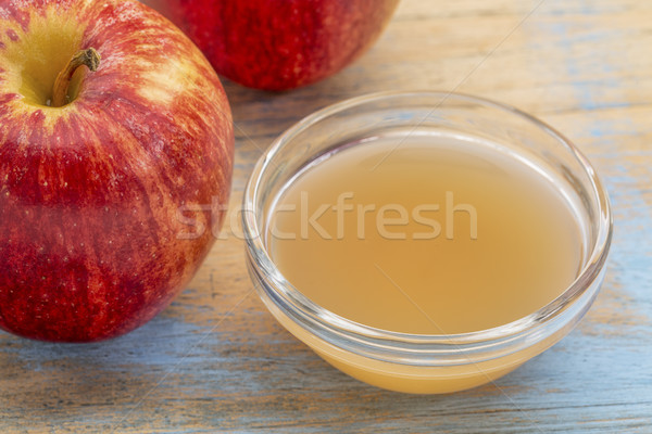 unfiltered, raw apple cider vinegar Stock photo © PixelsAway