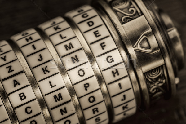 Blog kelime parola kombinasyon bilmece kutu Stok fotoğraf © PixelsAway