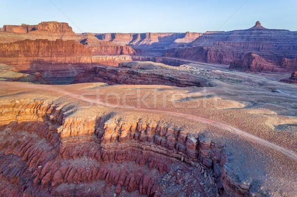 реке каньон дороги пустыне рок Сток-фото © PixelsAway