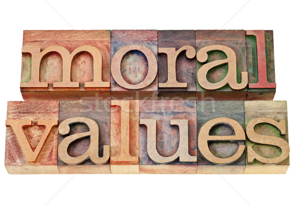 moral values - ethics concept Stock photo © PixelsAway