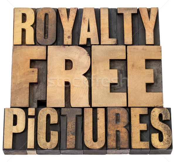 Libera immagini isolato parole vintage Foto d'archivio © PixelsAway
