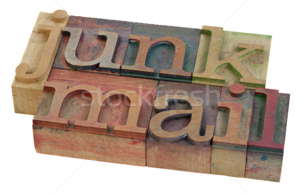 Stock photo: junk mail