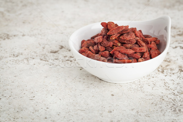 goji berries in bowl Stock photo © PixelsAway