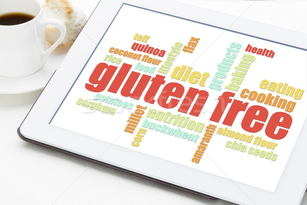 gluten free cooking word cloud  Stock photo © PixelsAway