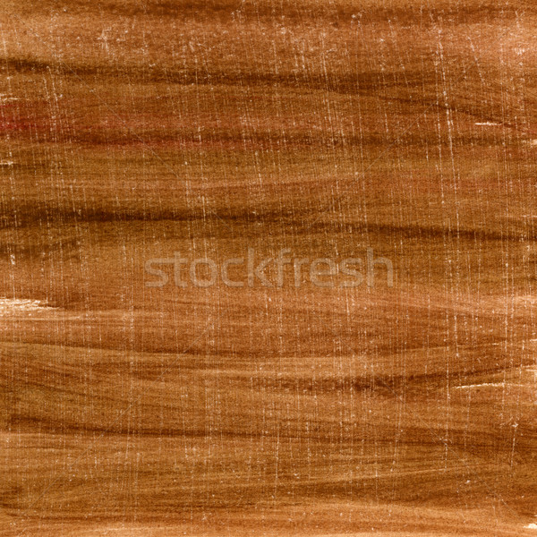 Stock photo: brown watercolor painted and scratched paper