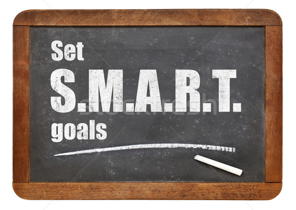 set SMART goals Stock photo © PixelsAway