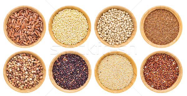gluten free grains collection Stock photo © PixelsAway