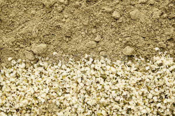 Tohumları protein toz doku yeşil Stok fotoğraf © PixelsAway