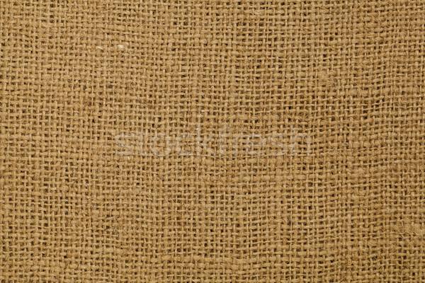 Barna zsákvászon textúra szövet háttér Stock fotó © PixelsAway