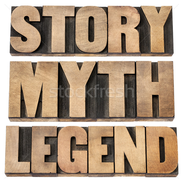 story, myth, legend Stock photo © PixelsAway