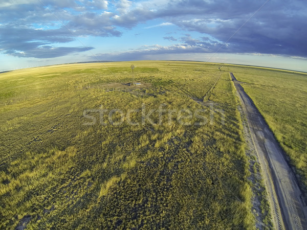 Colorado prairie in sunset light Stock photo © PixelsAway