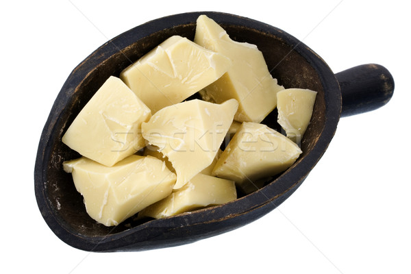 scoop of white chocolate chunks Stock photo © PixelsAway