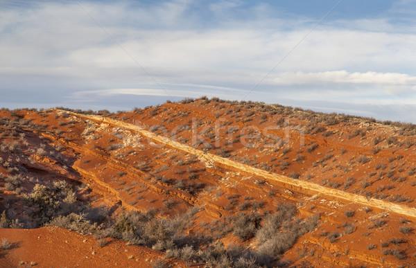 Piros hegy Colorado nyitva űr északi Stock fotó © PixelsAway
