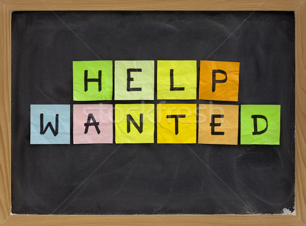 help wanted Stock photo © PixelsAway