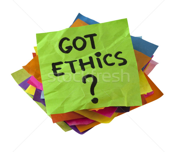 Got ethics?  Stock photo © PixelsAway