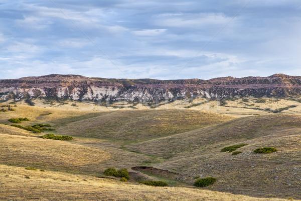 Pradaria penhasco nascer do sol naturalismo norte Foto stock © PixelsAway