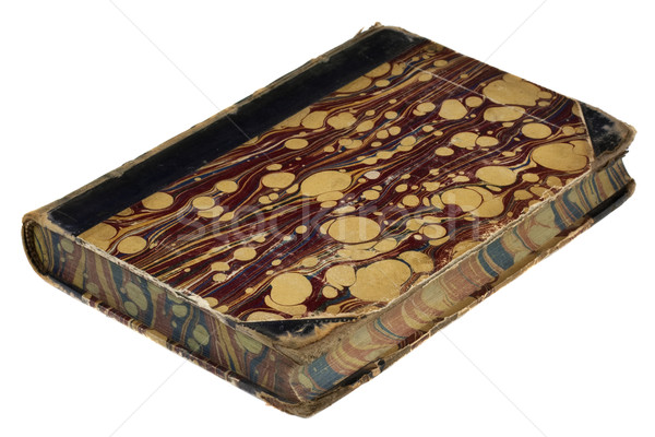 vintage book with painted foredge Stock photo © PixelsAway