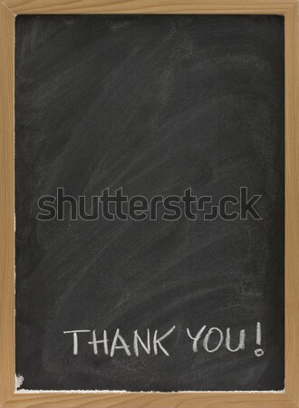 blank chalkboard with eraser smudges Stock photo © PixelsAway